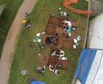 Little Creek Community Excavation - Week 1 Drone Image (1)