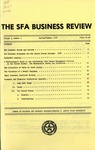 The SFA Business Review Vol. 3 No. 3 by M. Dudley Stewart Jr., Chester L. Allen, Don A. Evans, Patrick Michael Conn, Elick N. Maledon Jr., and Janelle C. Ashley