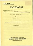 The SFA Economist Vol. 2 No. 1 by Nelson T. Samson and L. W. Ellerbrook