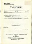 The SFA Economist Vol. 4 No. 1