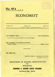 The SFA Economist Vol. 4 No. 2 by Doris Elizabeth King and Walter H. Lewis