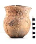 41UR317, Burial 10, Vessel 70, 2003.08.796 by Timothy K. Perttula and Robert Z. Selden Jr.