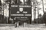 1310-01 Job Corps New Waverly Sign - Sam Houston National Forest