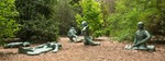 Melted army Men by Dana Younger