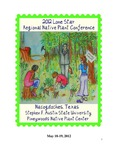 6th Lone Star Regional Native Plant Conference by Trey Anderson, David Creech, Greg Grant, Matthew W. McBroom, James Van Kley, and Hans M. Williams