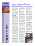 SFA Gardens Newsletter, Fall 2007