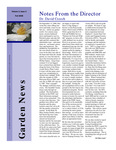 SFA Gardens Newsletter, Fall 2008