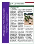 SFA Gardens Newsletter, Fall 2012
