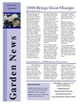 SFA Gardens Newsletter, Jan 2006