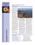SFA Gardens Newsletter, July 2006