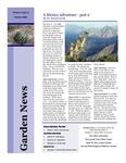 SFA Gardens Newsletter, Oct 2006