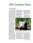 SFA Gardens Newsletter, Spring 2012