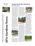 SFA Gardens Newsletter, Summer 2010