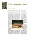 SFA Gardens Newsletter, Summer 2011
