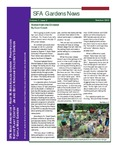 SFA Gardens Newsletter, Summer 2012