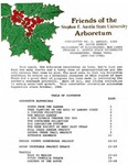 SFA Gardens Newsletter, August 1989
