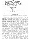 SFA Gardens Newsletter, Sept 1986