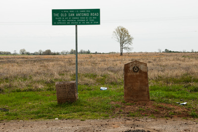 31 Trail Marker near Ford's Corner, San Augustine County, Texas