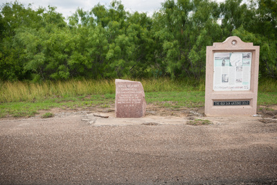 06A Marker in Catarina, Dimmit County, Texas