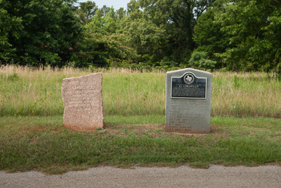 33 Trail Marker at Lobanillo, Sabine County, Texas