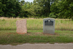 33 Trail Marker at Lobanillo, Sabine County, Texas by Christopher Talbot