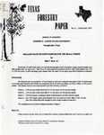 Texas Forestry Paper No. 6