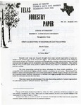 Texas Forestry Paper No. 20