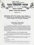 Texas Forestry Paper No. 21