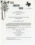 Texas Forestry Paper No. 3