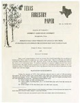 Texas Forestry Paper No. 16