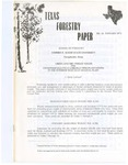 Texas Forestry Paper No. 18