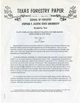 Texas Forestry Paper No. 29 by Ellis V. Hunt Jr. and Edwin L. Miller