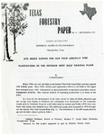 Texas Forestry Paper No. 8