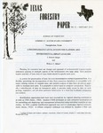 Texas Forestry Paper No. 11