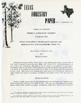 Texas Forestry Paper No. 13