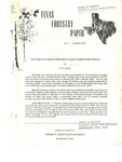 Texas Forestry Paper No. 1